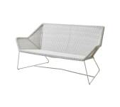 Sofa pleciona outdoor BREEZE marki Cane-line White grey