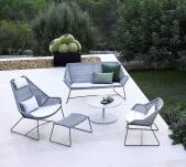 Sofa pleciona outdoor BREEZE marki Cane-line Light grey