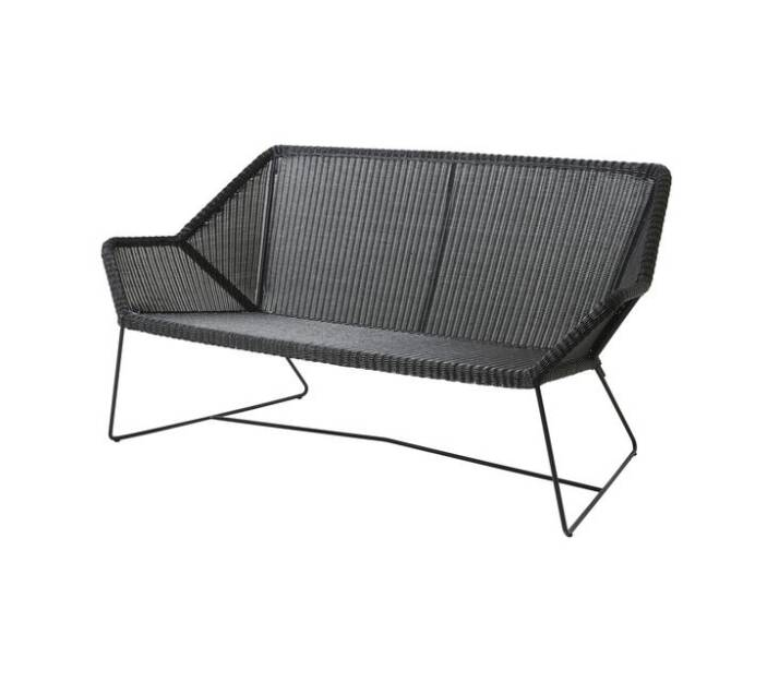 Sofa pleciona outdoor BREEZE marki Cane-line Black