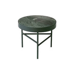 Marble Table small stolik śr. 40cm Indian Green