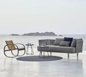 Sofa 3-osobowa outdoor MOMENTS marki Cane-line