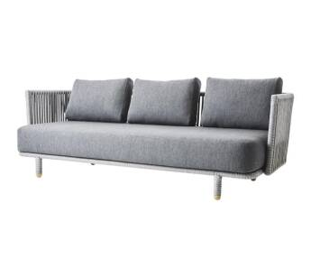 MOMENTS sofa outdoor 3-osobowa