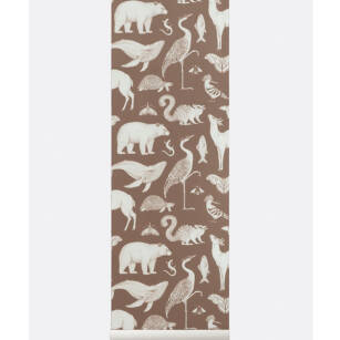 ANIMALS Wallpaper- tapeta Toffee/Blue