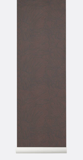 CORAL Wallpaper- tapeta Bordeaux/Dark Blue
