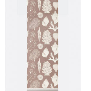 SHELLS Wallpaper- tapeta Rose/Aqua