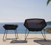 Fotel pleciony outdoor BREEZE marki Cane-line Black
