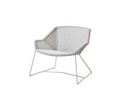 Fotel pleciony outdoor BREEZE marki Cane-line White grey