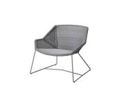 Fotel pleciony outdoor BREEZE marki Cane-line Light grey